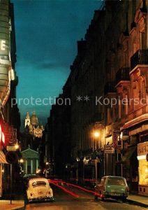 AK / Ansichtskarte Paris Rue Laffitte Eglise Notre Dame de Lorette Sacre Coeur Kat. Paris