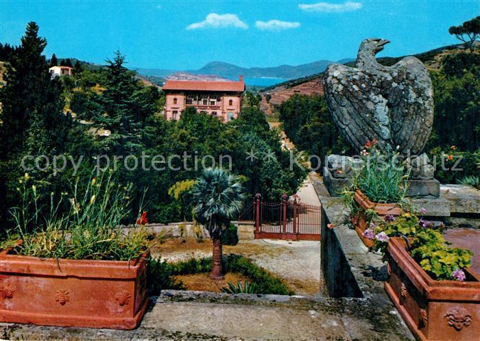 AK / Ansichtskarte San Martino Isola d Elba Panorama dalla Villa Napoleonica