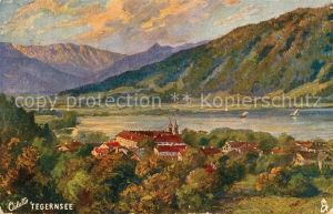 AK / Ansichtskarte Verlag Tucks Oilette Nr. 217 B Tegernsee  Kat. Verlage