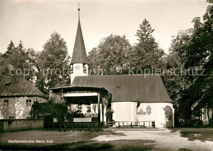 AK / Ansichtskarte Maria Eich Wallfahrtskirche Kat. Muenchen