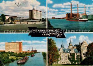 AK / Ansichtskarte Wolfsburg Volkswagenstadt Mittellandkanal Kat. Wolfsburg