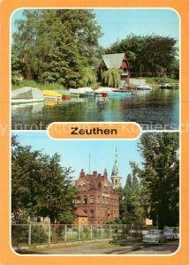 AK / Ansichtskarte Zeuthen Zeuthener See Blick zum Rathaus Kat. Zeuthen