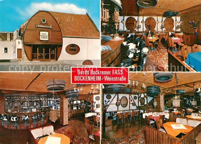 AK / Ansichtskarte Bockenheim Weinstrasse Gerds Bockremer Fass ...