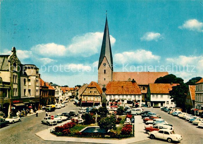 AK / Ansichtskarte Eutin Markt mit Kirche Kat. Eutin