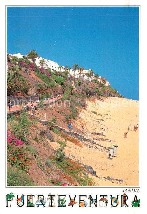 AK / Ansichtskarte Jandia Strandpartie Kat. Fuerteventura Kanarische Inseln