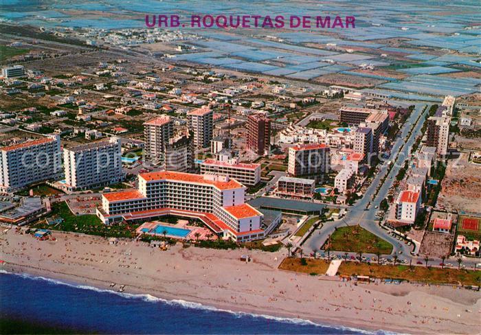 AK / Ansichtskarte Roquetas de Mar Fliegeraufnahme Kat. Costa de Almeria