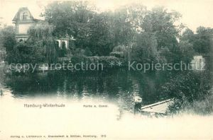 AK / Ansichtskarte Winterhude Partie am Kanal Kat. Hamburg