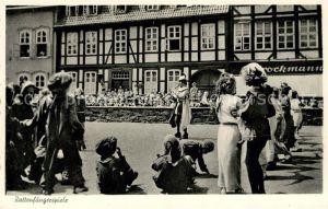 AK / Ansichtskarte Hameln Weser Rattenfaengerspiele