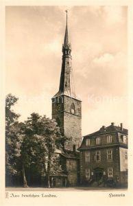 AK / Ansichtskarte Hameln Weser Stiller Winkel an der Kirche