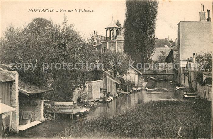 AK / Ansichtskarte Montargis Loiret Vue sur le Puiseaux Kat. Montargis