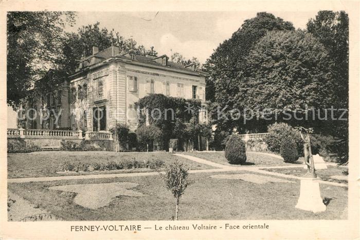 AK / Ansichtskarte Ferney Voltaire Chateau Voltaire Face orientale Kat. Ferney Voltaire