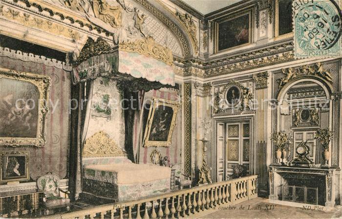 AK / Ansichtskarte Paris Palais du Versailles La Chambre a coucher de Louis XIV Kat. Paris