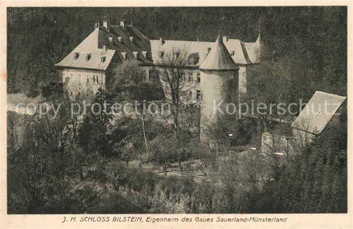 AK / Ansichtskarte Bilstein Sauerland Schloss Bilstein