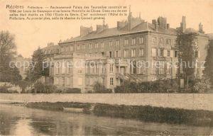 AK / Ansichtskarte Mezieres au Perche Prefecture Palais des Tournelles Kat. Mezieres au Perche