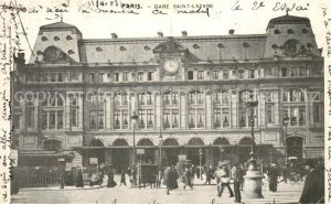 AK / Ansichtskarte Paris Gare Saint Lazare Kat. Paris