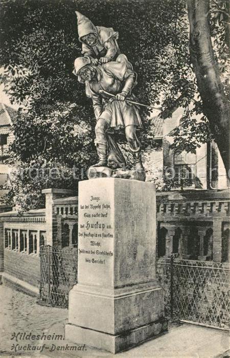 AK / Ansichtskarte Hildesheim Huckauf Denkmal Kat. Hildesheim