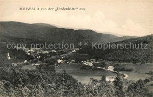 AK / Ansichtskarte Hohwald Bad Blick von der Lindenhuette Kat. Le Hohwald