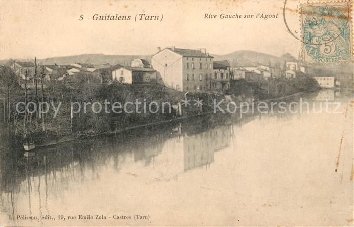 AK / Ansichtskarte Guitalens Tarn Rive Gauche sur l Agout Kat. Guitalens L Albarede