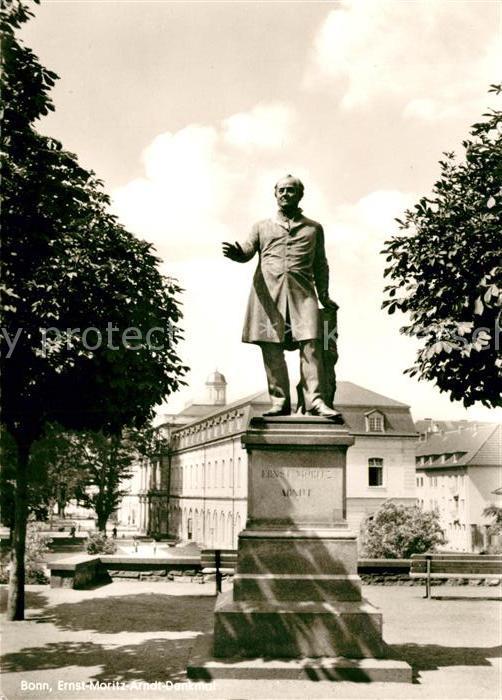 AK / Ansichtskarte Bonn Rhein Denkmal Ernst Moritz Arndt Kat. Bonn