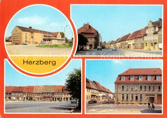 AK / Ansichtskarte Herzberg Elster Torgauer Strasse Karl Marx Platz Kat. Herzberg Elster