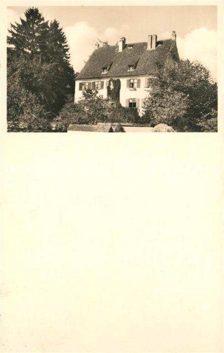AK / Ansichtskarte Ludwigsburg Wuerttemberg Wohnhaus