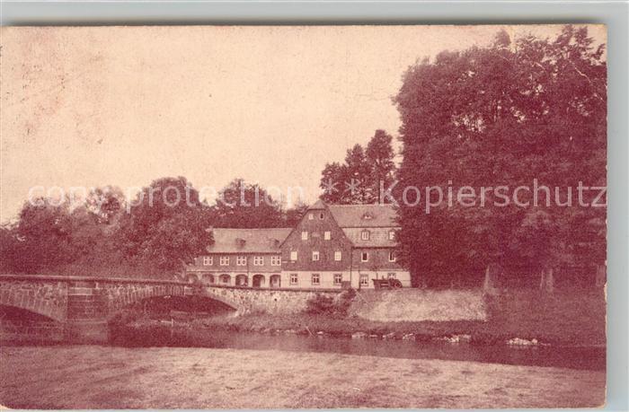AK / Ansichtskarte Burgstaedt Sachsen Gasthof Goldner Stern Goeritzhain Kat. Burgstaedt