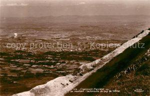 AK / Ansichtskarte Clermont Ferrand Puy de Dome Vue en montant autoroute du puy de Dome Kat. Clermont Ferrand