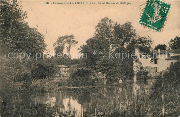 AK / Ansichtskarte La Creche Le Grand Moulin de Ruffigny Kat. La Creche