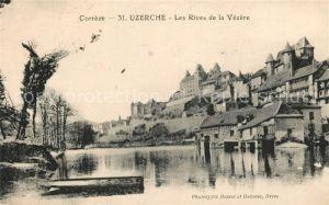 AK / Ansichtskarte Uzerche Les Rives de la Vezere Kat. Uzerche