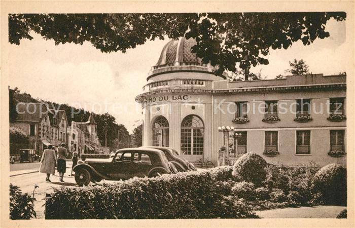 AK / Ansichtskarte Bagnoles de l Orne Casino du Lac Rue de Domfront Kat. Bagnoles de l Orne