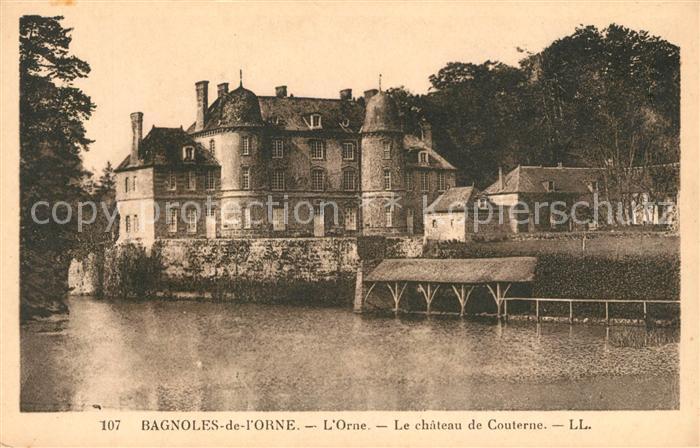 AK / Ansichtskarte Bagnoles de l Orne Chateau de Couterne sur l Orne Kat. Bagnoles de l Orne