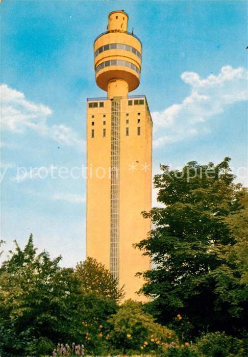 AK / Ansichtskarte Frankfurt Main Henninger Turm Restaurant Kat. Frankfurt am Main