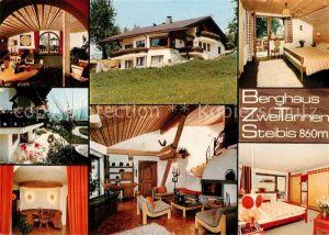 AK / Ansichtskarte Steibis Berghaus Zwei Tannen Kat. Oberstaufen