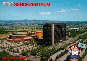 AK / Ansichtskarte Mainz Rhein ZDF Sendezentrum