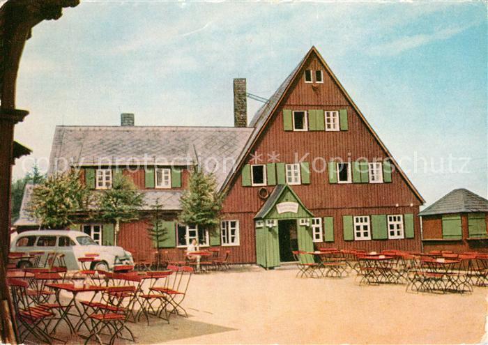 AK / Ansichtskarte Altenberg Dippoldiswalde Waldgasthaus Altes Raupennest Kat. Altenberg