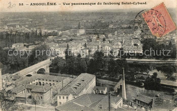 AK / Ansichtskarte Angouleme Vue du faubourg Saint Cybard Kat. Angouleme