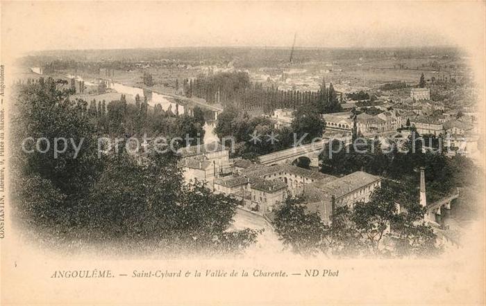 AK / Ansichtskarte Angouleme Saint Cybard Kat. Angouleme