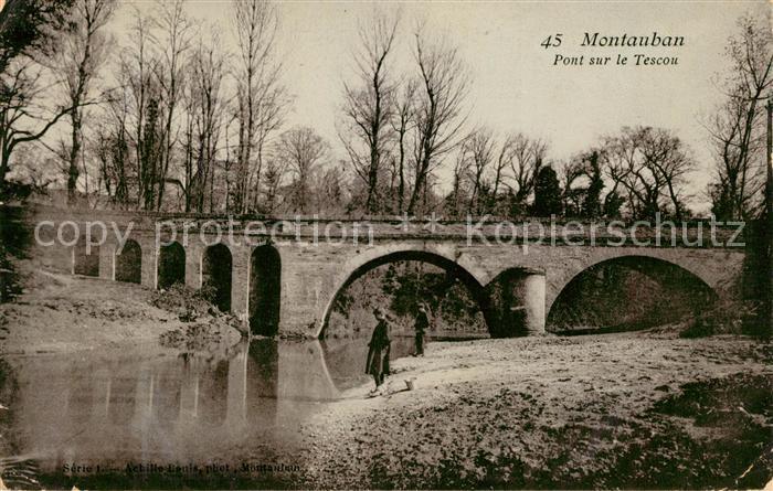 AK / Ansichtskarte Montauban Pont sur le Tescou Kat. Montauban
