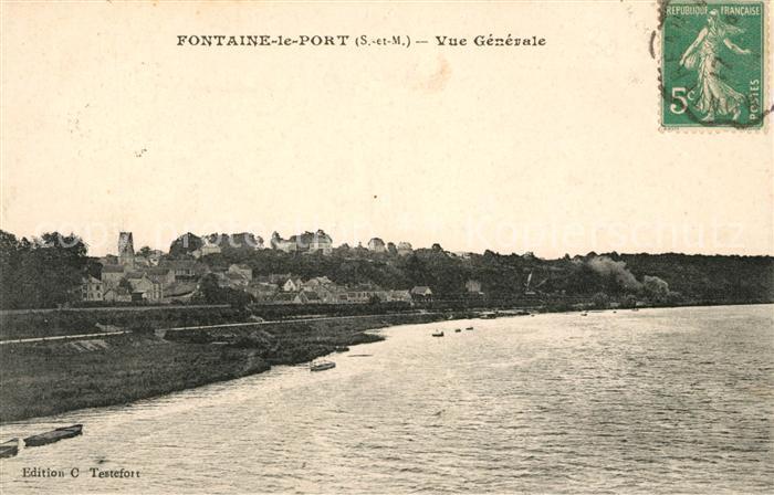 AK / Ansichtskarte Fontaine le Port Vue generale Kat. Fontaine le Port
