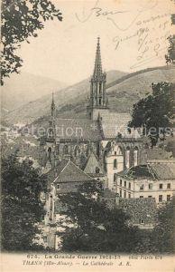 AK / Ansichtskarte Thann Haut Rhin Elsass Cathedrale Kat. Thann