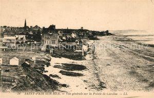 AK / Ansichtskarte Saint Pair sur Mer Vue generale sur la Pointe de Carolles Kat. Saint Pair sur Mer
