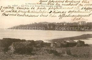 AK / Ansichtskarte Agay Var Les Villas et le Grand Hotel Cote d Azur Kat. Saint Raphael