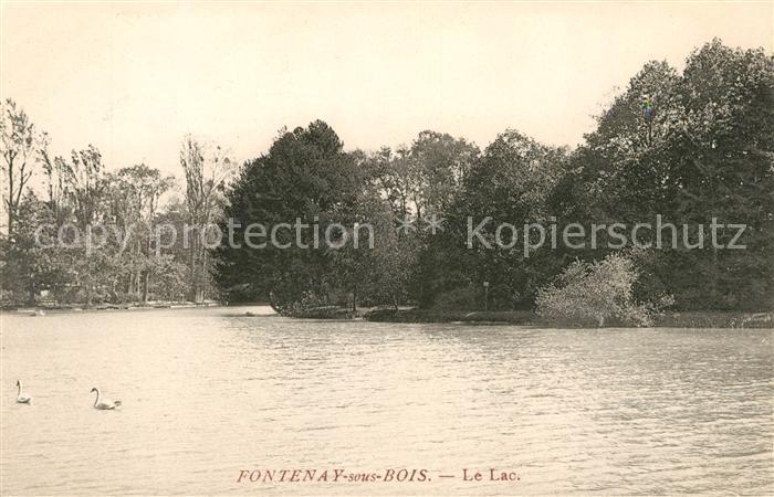AK / Ansichtskarte Fontenay sous Bois Le Lac Kat. Fontenay sous Bois
