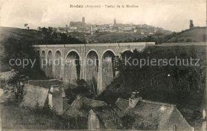 AK / Ansichtskarte Rodez Viaduc de la Mouline Kat. Rodez