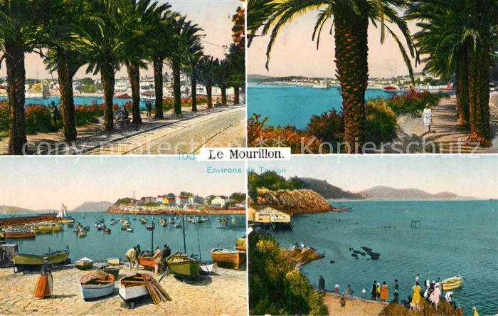 AK / Ansichtskarte Le Mourillon Promenade Port Palmiers Cote d Azur Kat. Aux Aussat