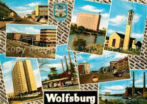 AK / Ansichtskarte Wolfsburg Stadtansichten Kirche  Kat. Wolfsburg