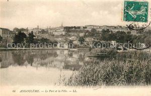 AK / Ansichtskarte Angouleme Port et la Ville Kat. Angouleme