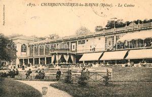 AK / Ansichtskarte Charbonnieres les Bains Casino Kat. Charbonnieres les Bains