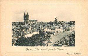 AK / Ansichtskarte Angers Vue prise du Chateau Kat. Angers