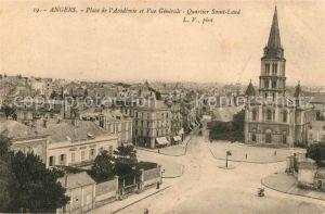 AK / Ansichtskarte Angers Place de l`Academie et Quartier Saint Laud Kat. Angers